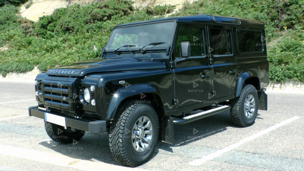 Диагностика ошибок сканером Land Rover Defender в Перми