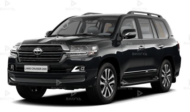 Диагностика ошибок сканером Toyota Land Cruiser в Перми